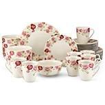 Gorham 854251 Kathy Ireland Blossoming Rose Dinnerware Set - 32 (Gorham Rose)