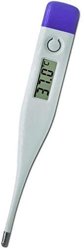 Digital Themometer Celsius Themometer for Baby Children and Adults, Oral and Rectal Fever Indicator Celsius (℃) LCD Oral Themometer for Fever