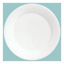 Syracuse Bone China Plates - Syracuse China Baroque Bone China Dessert Plate, 6.5 inch - 36 per case.