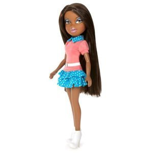 Bratz Polka Dot Pretty Outfit & White Heels with Paper Doll - Doll Not Included