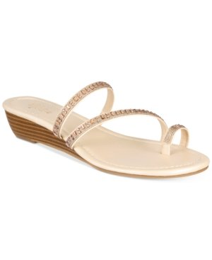 - Style & Co. Womens Hayleigh Open Toe Casual Slide Sandals, Beach Sand, Size 8.5