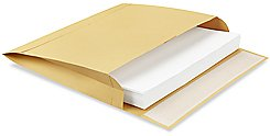 Expansion Kraft Envelope Open Side - 12 x 15 x 2 - Brown Kraft Expansion Envelope – Open Long Side – 250/Case