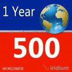 Iridium Global Prepaid Airtime SIM Card (500 Minutes)