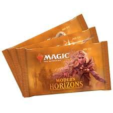 Magic: The Gathering Modern Horizons Draft Pack   3 Booster Packs (45 Cards)