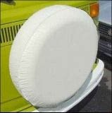 34 inch tires - Spare Tire Cover Vinyl Polar White with Innerliner Fits All 33