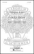 (O Holy Night With Organ Cantique De Noel Soprano And Tenor Solo SATB with Soprano or Tenor)