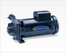 Pentair B53602S C1-1/4TPMS Berkeley Type C-Series Straight Centrifugal Pump, 3 HP, 230-Volt (Pump 160 Centrifugal)