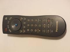 Panasonic EUR7613Z10 TV DVD VCR DBS/CBL Universal System Rem