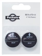 Petsafe Pif 275 - PetSafe  RFA-67 Batteries Economy 8-Pack (8 batteries)