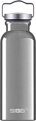 SIGG Original Alu, Water Bottle, aluminium, BPA Free, Grey - 17oz
