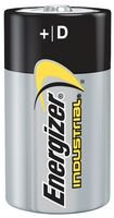 ENERGIZER EN95 Non-rechargeable Battery, Industrial, Alkaline, 17000 mAh, 1.5 V, D (100 pieces) by Energizer