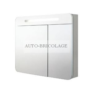 Armoire De Toilette Avec Prise Et Interrupteur.Alterna Armoire De Toilette Day By Day 100 Cm Avec Prise