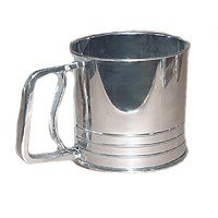 Progressive Int'l Sifter Flour 5 Cup Stainless Steel GFS5