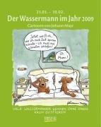Der Wassermann im Jahr 2009: Sternzeichen-Cartoonkalender