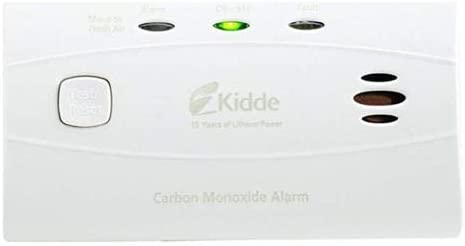 Kidde Worry-Free Carbon Monoxide Detector Alarm with 10 Year Sealed Battery Model C3010-2 Pack