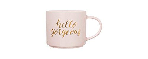 Hello Gorgeous Coffee Mug - Rose Gold
