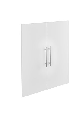 ClosetMaid 48755 SuiteSymphony Modern 25-Inch Door Pair, Pure White
