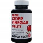 American Health Products - Apple Cider Vinegar, 480 mg, 200 tablets