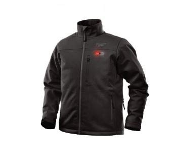 Milwaukee Jacket M12 12V Lithium-Ion Heated Front and Back Heat Zones All Sizes and Colors - Battery Not Included (Extra Large, Black)