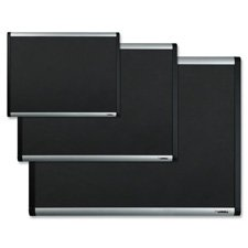 - Bulletin Board, Mesh Fabric, w/ Hardware, 6'x4', AM Frame, Sold as 1 Each