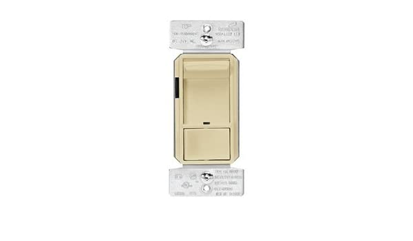 Ivory Finish Cooper Wiring Devices SAL06P-V-K Skye AL Series 3-Way Single-Pole Sliding Dimmer Switch with Rapid Start Feature