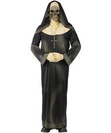 Fun World Women's Sinister Sister Nun Halloween Costume, Multi, Standard]()