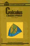 Calculus : A Modern Approach, Oakley, Cletus O., 006460134X