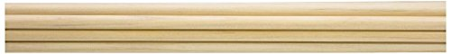 Rose City Archery Port Orford Cedar Bare Wood Select Unspined Shafts (50 Count), 5/16-Inch Diameter/28 1/2-Inch Length