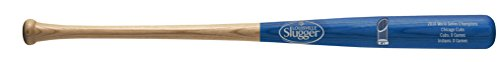 Chicago Cubs Louisville Slugger 2016 World Series Champions Full-Size Laser Engraved Collectible Bat by Louisville...