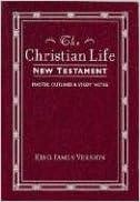 Book Christian Life New Testament King James Version