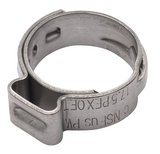 1/2 in. Stainless Steel Pre-Crimped Ring, (Pack of 10)