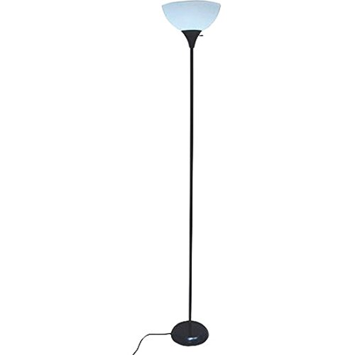 "Mainstays 71"" Floor Lamp, Black"