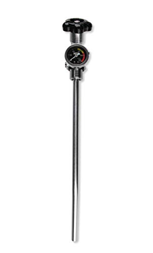 (NOS 16137ABNOS NOS 10 lb. Bottle Super Hi-Flow Valve Assembly with Siphon Tube and Black Gauge )