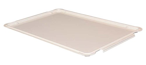 Toteline 8870085269 Lid for Stacking Containers 870008, 880008, Glass Fiber Reinforce, Plastic Composite, 25.75'' x 17.75'', White by Toteline