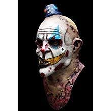 Ghoulish Productions Mime Zack Evil Clown Latex Mask Killer Klown Halloween Horror ()