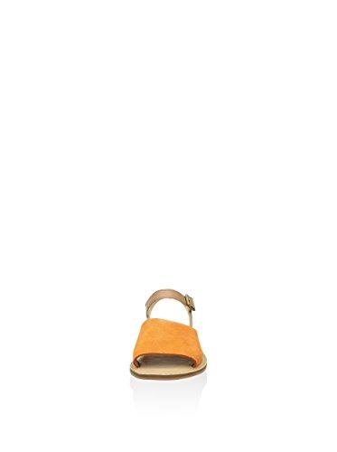 Timberland Sandalias planas Sheafe Y-Strap Naranja / Beige EU 38 (US 7)
