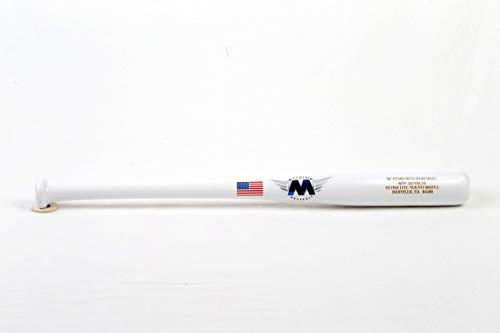 M^Powered Baseball Big Drop Youth Wood Baseball Bat, 5-8 Drop, Maple, 25