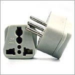 VCT VP107 Universal Outlet Plug Adapter for Italy, Travel Adapter