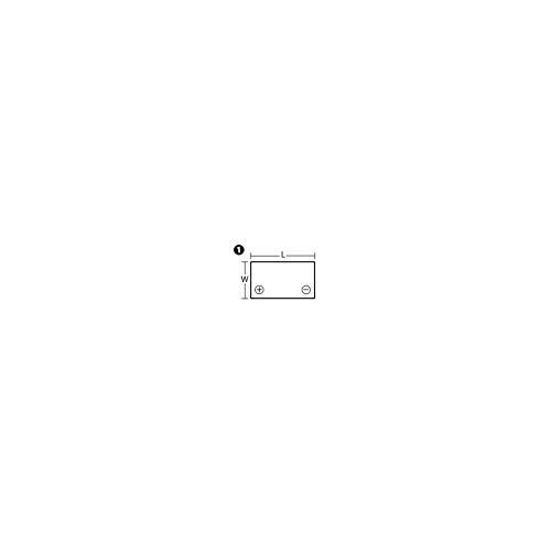 BATTERIE PLOMB /ÉTANCHE NP2.3-12 ENERSYS 12V 2.3AH