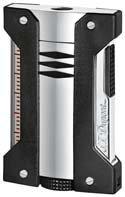 (S.T. Dupont Defi Extreme Lighter - Chrome/Black 21401)