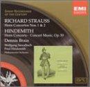 Strauss & Hindemith: Horn Concertos
