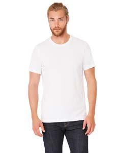 Bella+Canvas Perfect Tri-Blend Fashionable T-Shirt, XL, Solid White Triblend (Blend T-shirt Polyester)