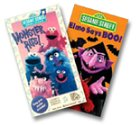 Sesame Street - Elmo Says Boo/Monster Hits [VHS]