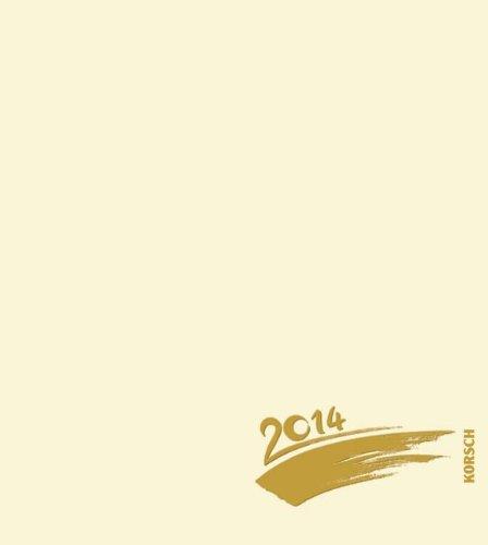 Foto - Malen - Basteln chamois mit Folienprägung 2014: Kalender zum Selbstgestalten