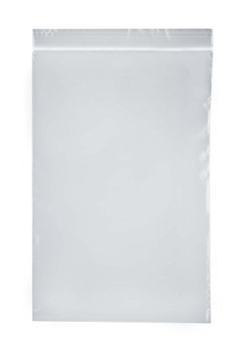 "SE ZB69 6"" x 9"" Self-Locking Bags, 2 Mil Thickness, 100-Pack"