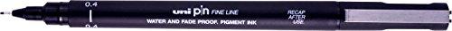 Uni-Pin fine LNER Marker 0.4mm Black Single Pen