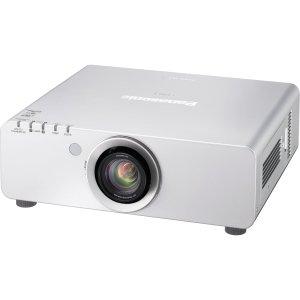 Panasonic PT-DX610ULS 6500 Lumens 1024 x 768 XGA 2,000:1 1-Chip DLP Projector Silver PTDX610ULS