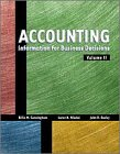 Accounting Information For Business Decisions, Volume Ii