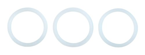 (Primula Replacement Silicone Gasket for Stainless Steel 6 Cup Stovetop Espresso Maker, Set of 3)