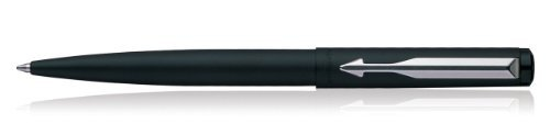 BEST PRICE Parker Vector Matte Black Chrome Accents Ball Pen